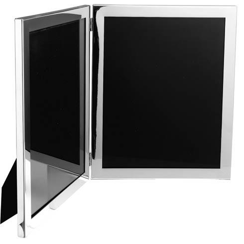 """Pewter Frames Double Frame, 8"""" x 10"""""""