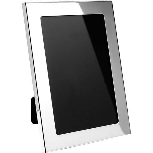 """Pewter Frames Wide Border Frame, 5"""" x 7"""" w/4"""" x 6"""" opening"""