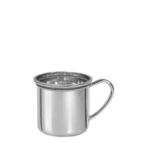Sterling Baby Cambridge Baby Cup with Beading