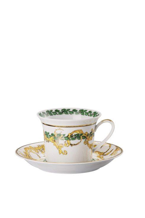 A Winter's Night Cappuccino Cup & Saucer