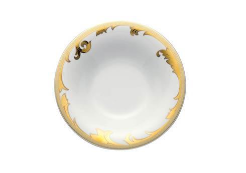 Arabesque Gold Rim Soup