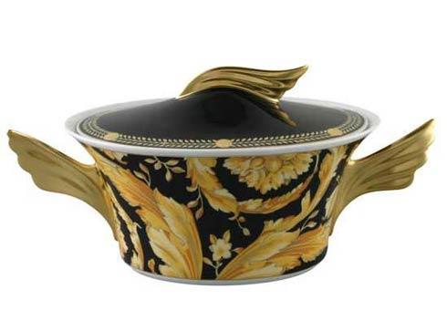 Vanity Vegetable Bowl, Covered