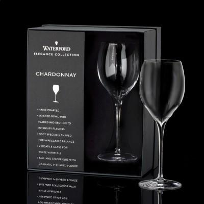 Elegance Chardonnay Wine Glass Pair