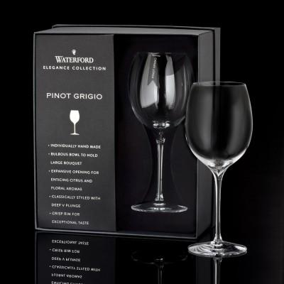 Elegance Pinot Grigio Wine Glass Pair