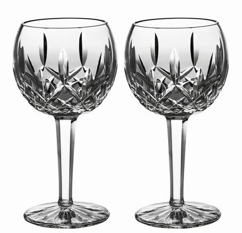 Lismore Balloon Wine, Set of 2