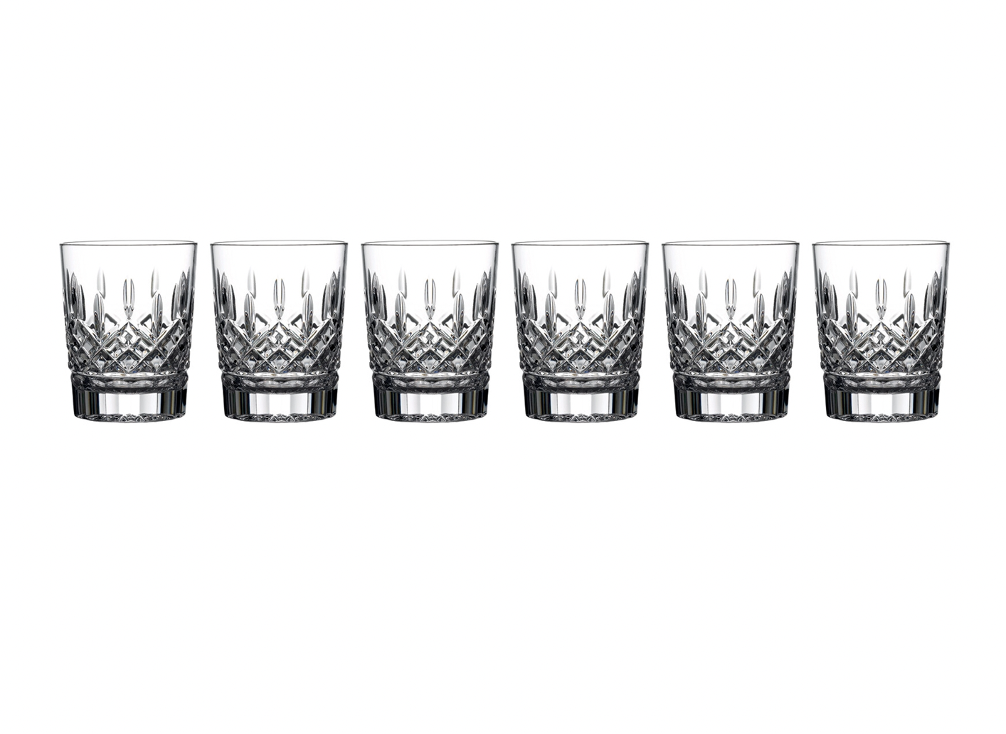 Lismore Double Old Fashioned Set of 6