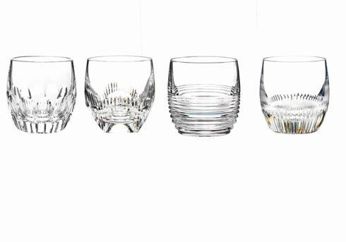 Mixology Double Old Fashioned - Clear, Set of 4