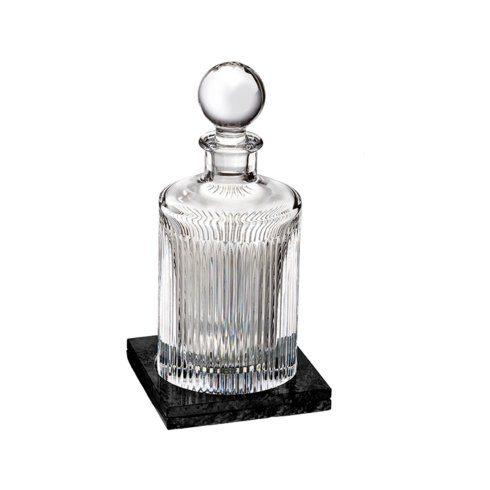 Short Stories Aras Decanter Round (With Marble Coaster)