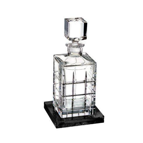 Short Stories Cluin Decanter Square (With Marble Coaster)