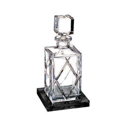 Short Stories Olann Decanter Square (With Marble Coaster)