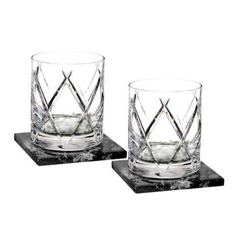 Short Stories Olann DOF Set/2 With Marble Coasters