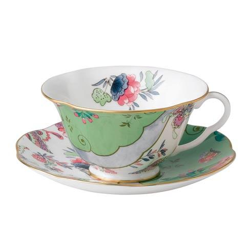 Butterfly Bloom Teacup & Saucer Set Butterfly Posy