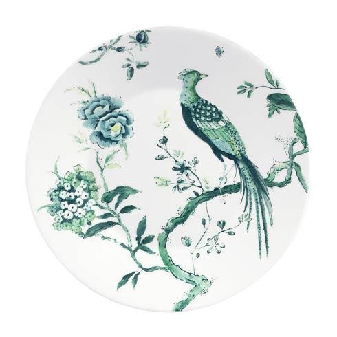 Chinoiserie White Salad Plate