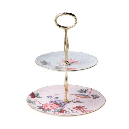 Cuckoo Cake Stand Two-Tier