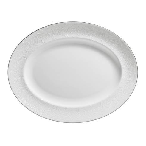 English Lace Oval Platter