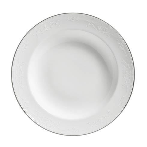 English Lace Rim Soup Plate