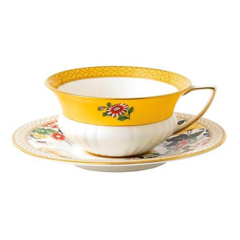 Wonderlust Teacup & Saucer Set Primrose