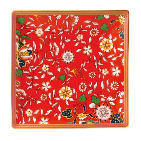 "Wonderlust Tray 5.7"" Crimson Jewel"