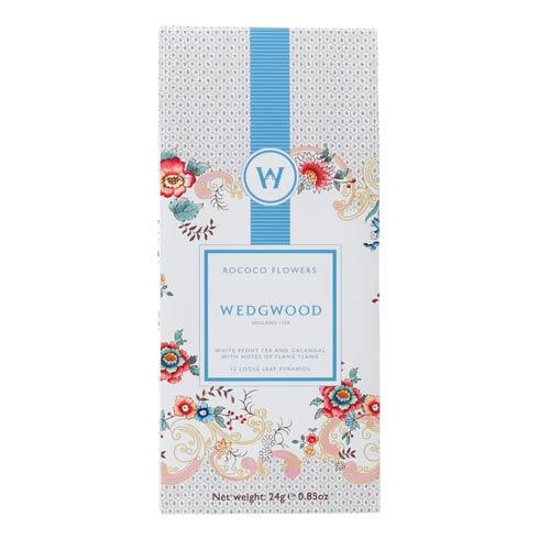 Wonderlust White Tea Box/12 Rococo Flowers