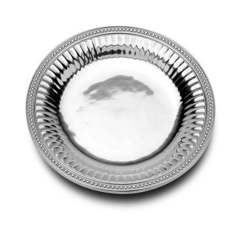 Flutes & Pearls Medium Round Tray
