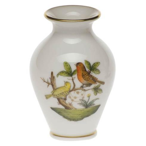 Rothschild Bird Original (no border) Bud Vase - 2.5""