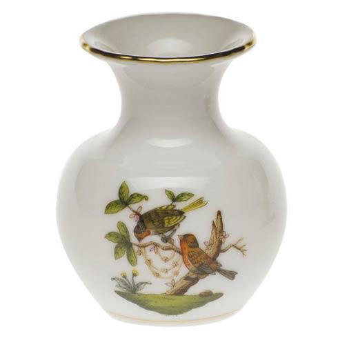 Rothschild Bird Original (no border) Bud Vase - 2.75""