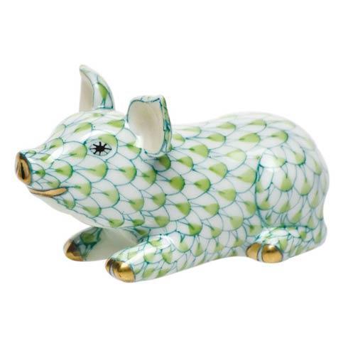 Little Pig Lying Key Lime