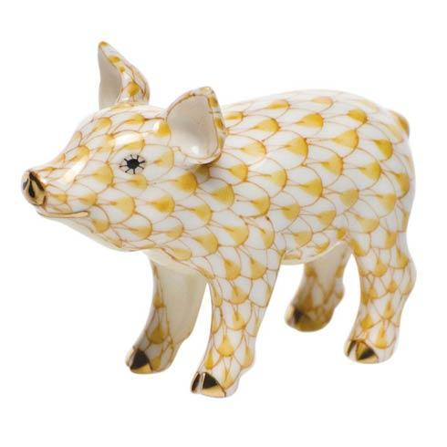Little Pig Standing Butterscotch