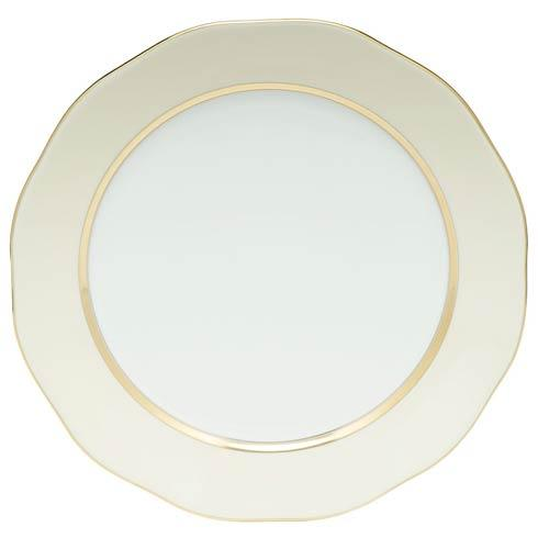 Silk Ribbon Charger Beige