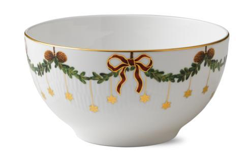 Star Fluted Christmas Bowl
