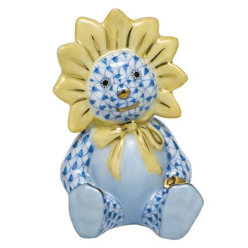 Sunflower Bear - Blue