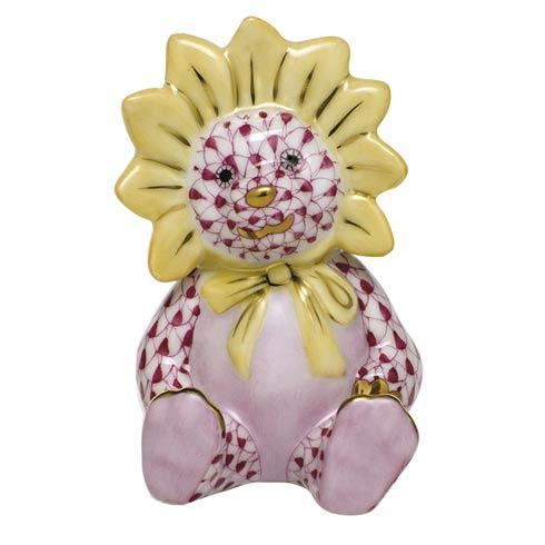 Sunflower Bear - Raspberry