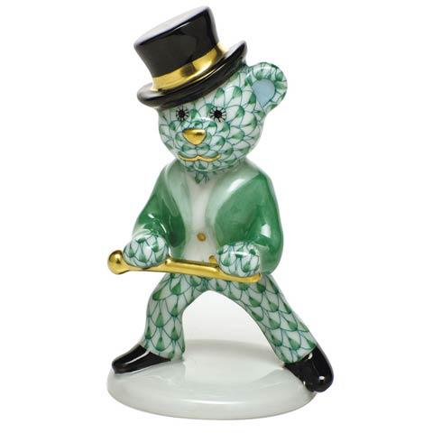 Tap Dance Bear - Green
