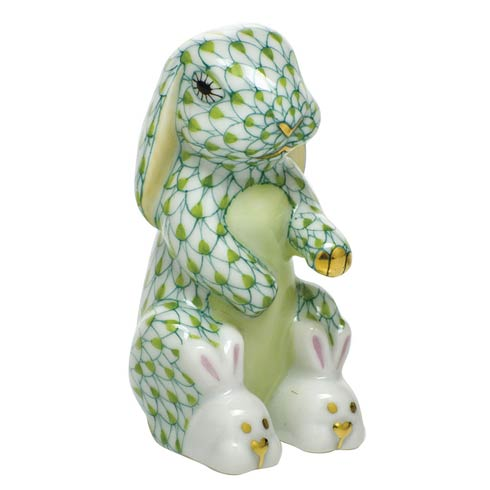 Bunny Slippers - Key Lime