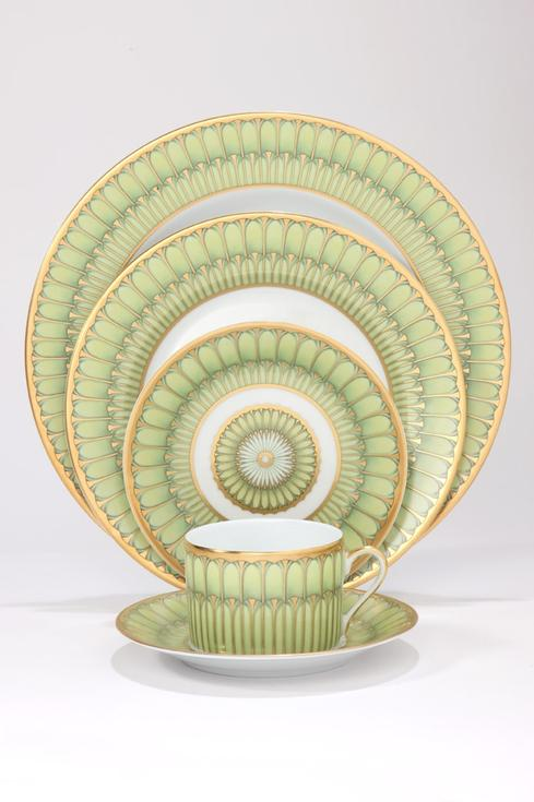 Arcades green 5 Piece Place Setting * [DESBIA-PPS5-MZ6722]