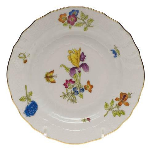 Antique Iris Bread & Butter Plate - Mo 01 [HERHRD-CIR---01515-0-01]