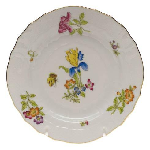 Antique Iris Bread & Butter Plate - Mo 03 [HERHRD-CIR---01515-0-03]