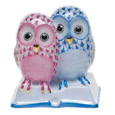Pair Of Owls On Book [HERHRD-SVHQ4715886-0-00]