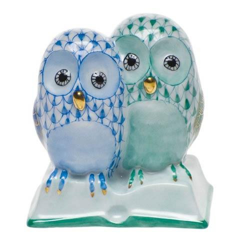 Pair Of Owls On Book [HERHRD-SVHQ4815886-0-00]