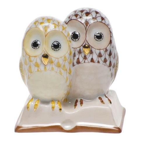Pair Of Owls On Book [HERHRD-SVHQ4915886-0-00]