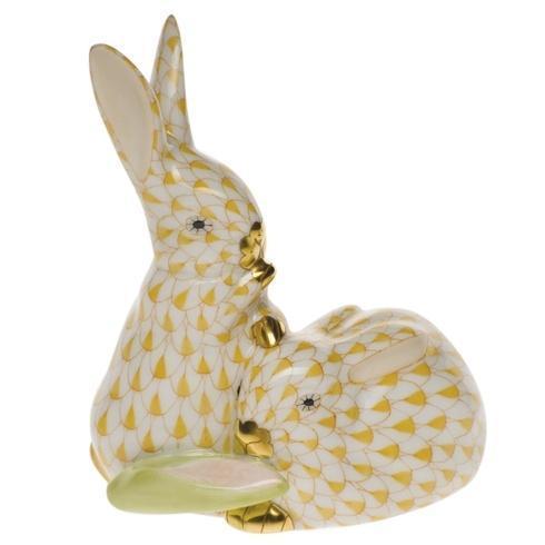 Pair Of Rabbits W/Corn [HERHRD-VHJM--05326-0-00]