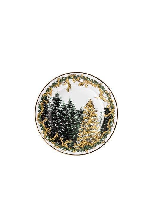 A Winter's Night Bread & Butter Plate [VERRSL-19300-409945-10218]