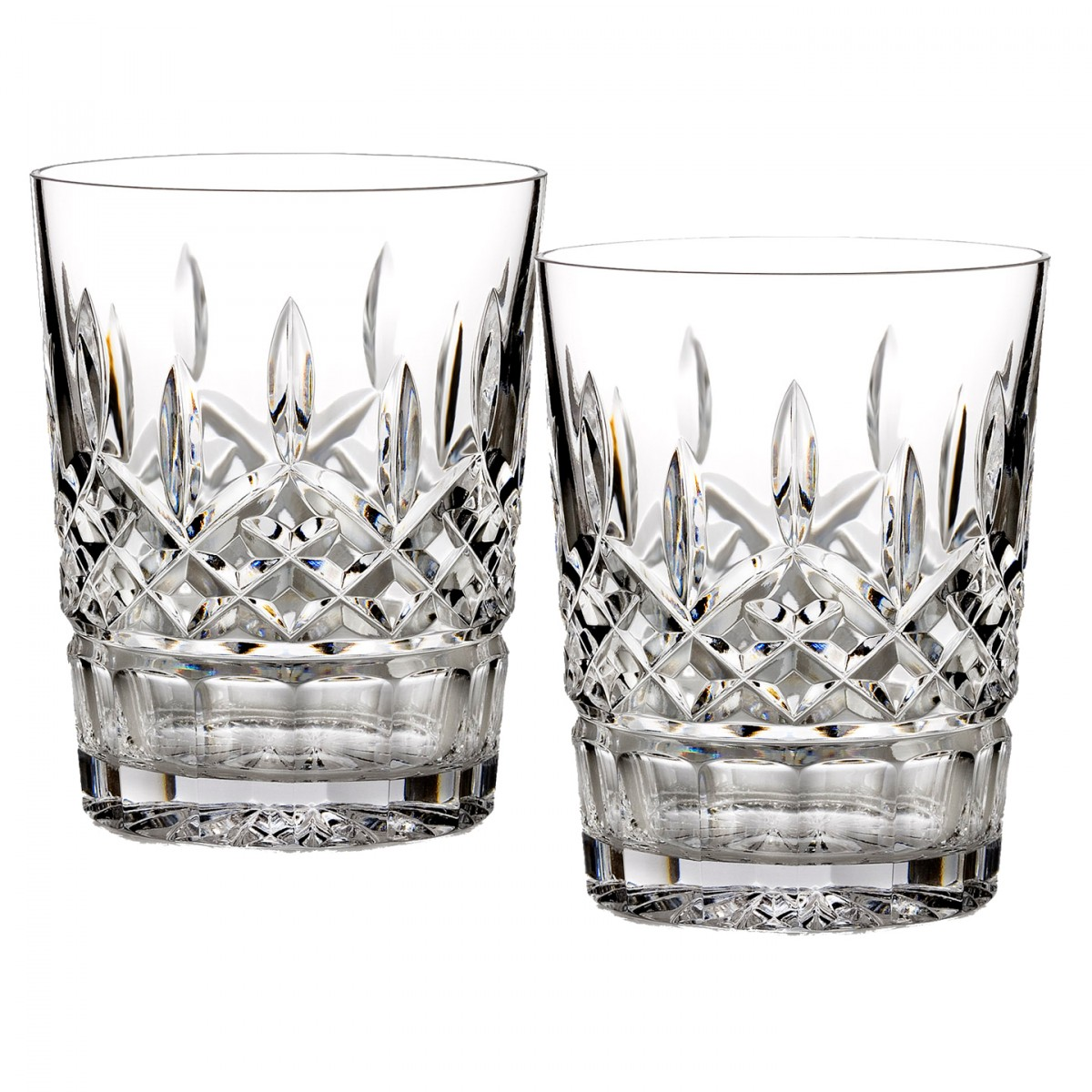 Whitelaw-Stewart Waterford Lismore 12oz Double Old Fashioned, Set of 2