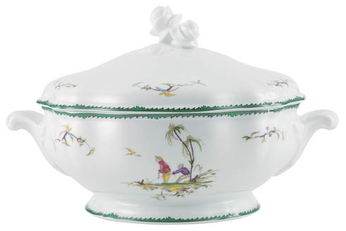 Longjiang Multi color Soup tureen