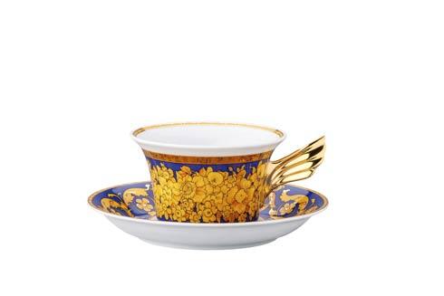 25 Years Floralia Blue Tea Cup & Saucer