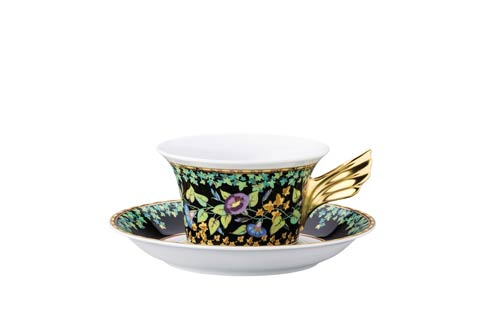 25 Years Gold Ivy Tea Cup & Saucer