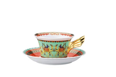 25 Years Marco Polo Tea Cup & Saucer
