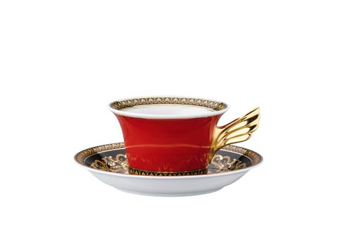 25 Years Medusa Tea Cup & Saucer