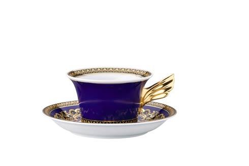 25 Years Medusa blau Tea Cup & Saucer