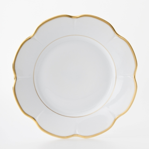 Nymphea Margaux gold Dinner Plate